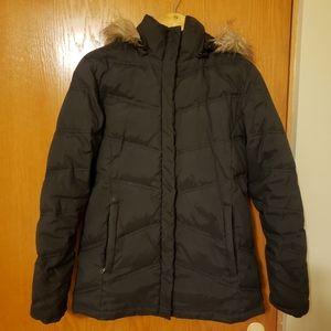 New York & Company black winter coat